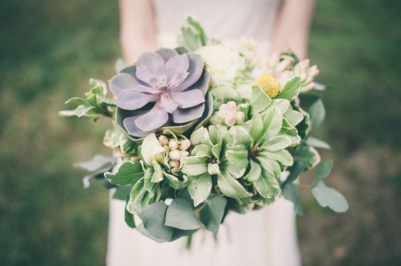 Favoloso Bouquet da Sposa con le Piante Grasse - Scelte per te JX11