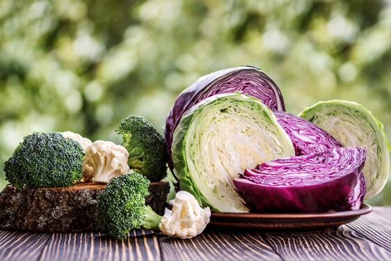 Broccolo, Cavolo, Cavolfiore e Verza