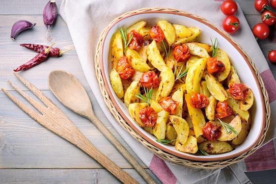 patate con pomodori piccadilly