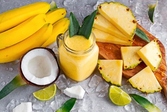 Estratto di Cocco, Ananas e Banane