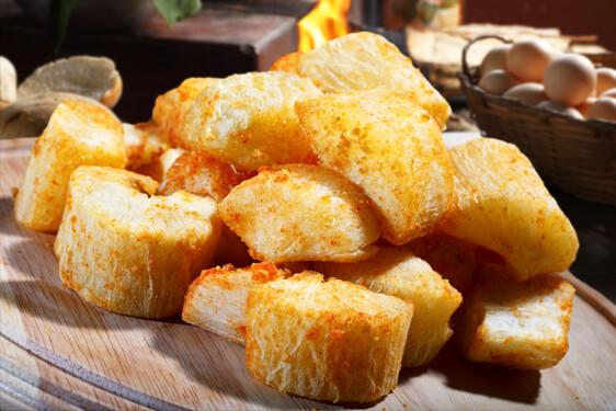 Cassava fritta