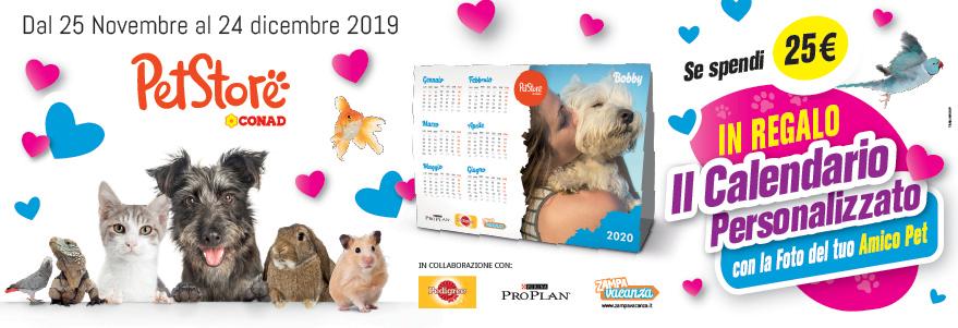 Calendario Pet Store