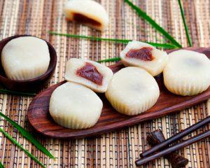 Mochi cake ai fagioli azuki
