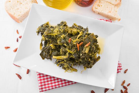 Broccoletti con acciughe e pangrattato