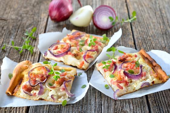 Pizza alla Cipolla