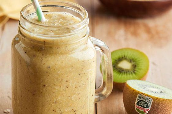 ricetta_smoothie arancia e zespri green