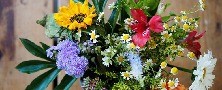 Come conservare a lungo un mazzo di fiori