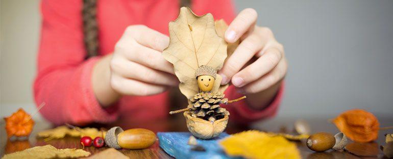 7 creazioni d'autunno per bambini